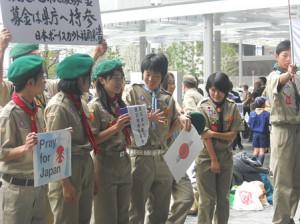 東日本大震災の募金活動