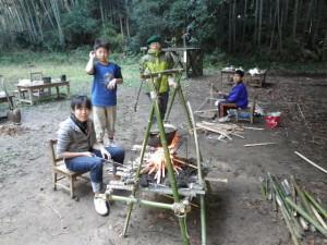 キャンプが一番楽しい