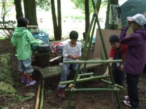 福岡中地区合同野営大会