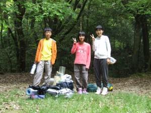 ボーイ隊1級キャンプ