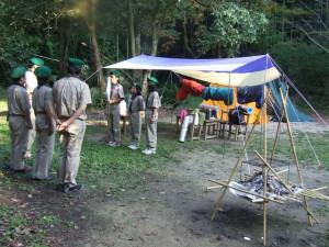 BS隊ちかいの式キャンプ