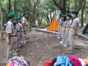 ボーイ隊冬季キャンプ