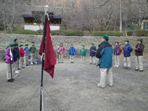 冬季キャンプ