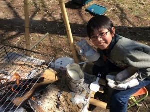 ボーイスカウト 飯盒 炊事