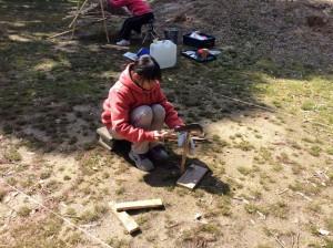 薪割り ボーイスカウト