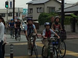 サイクリング ボーイスカウト