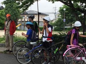 ボーイスカウト サイクリング チェックポイント