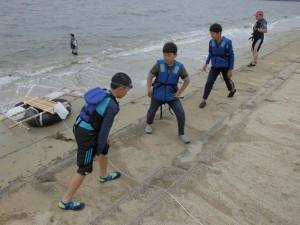 水プログラム 準備運動