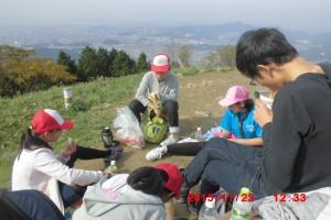 米の山ハイキング