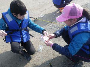ボーイスカウト魚釣り
