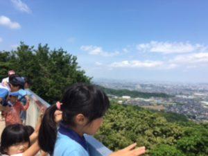 天拝山登山