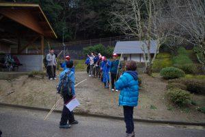 ボーイスカウト隊冬季キャンプ