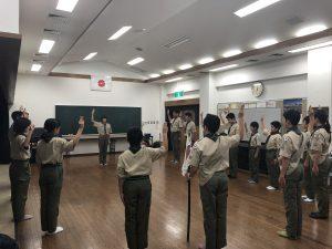 12/22~23ボーイ隊〜50キロナイトハイク〜