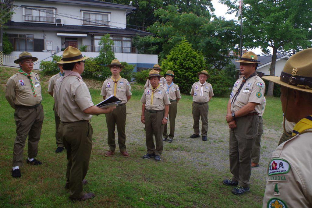 6/29定形外訓練 隊指導者のためのリフレッシュミーティング