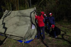 スカウト隊キャンプ