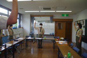 7/26「新たな生活様式」によるBS隊班長会議